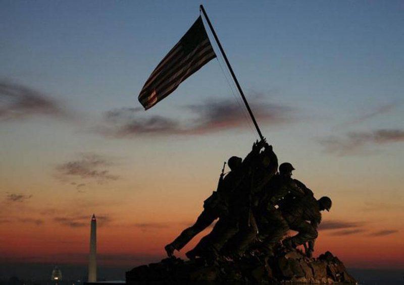 The Marine Corps Memorial