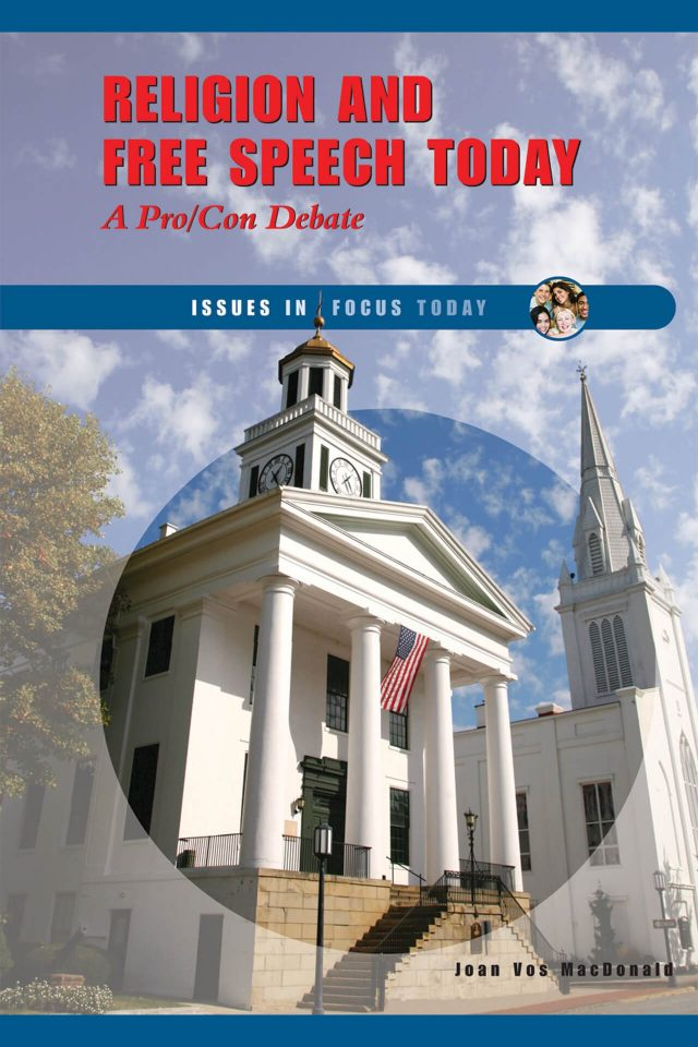 Book Cover: Religion and Free Speech Today