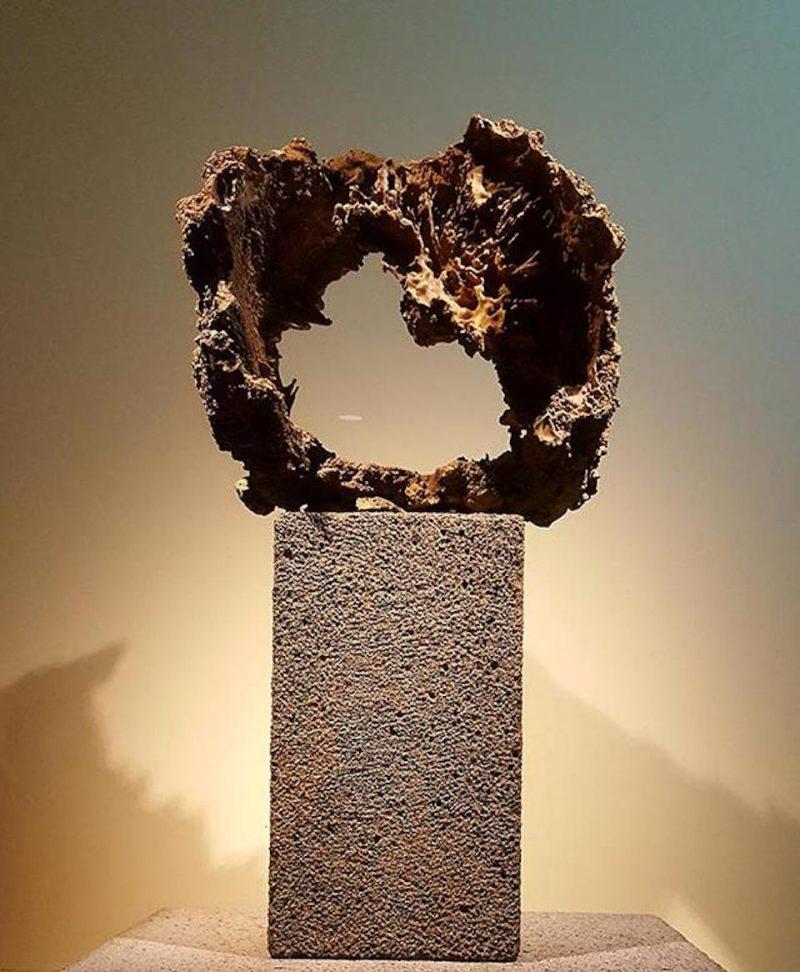 Lava Tree Sculpture