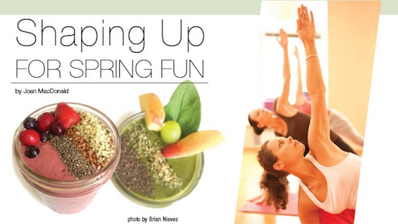 Shaping Up For Spring Fun Header